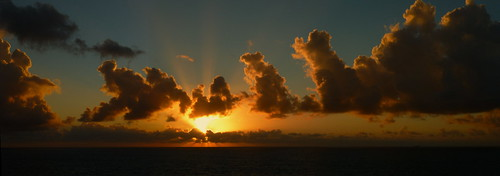 water clouds sunrise nsw kurnell capesolander