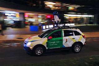 Automóvil de Google Street View