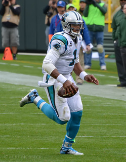Cam Newton | by Mike Morbeck