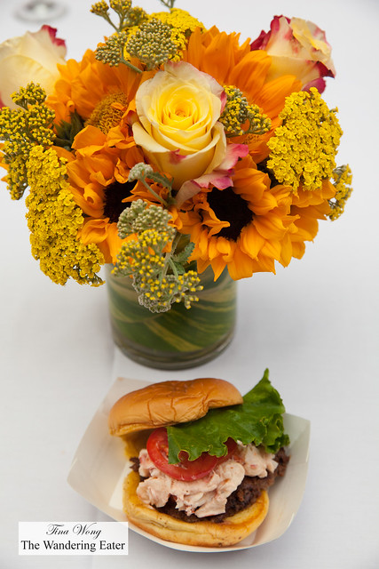 Surf 'n' Shack - Angus burger, lobster salad, lettuce, ShackSauce by Shake Shack