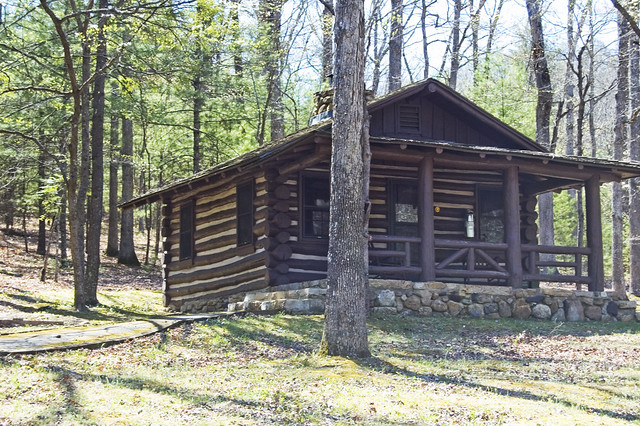 Douthat State Park Cabin 3