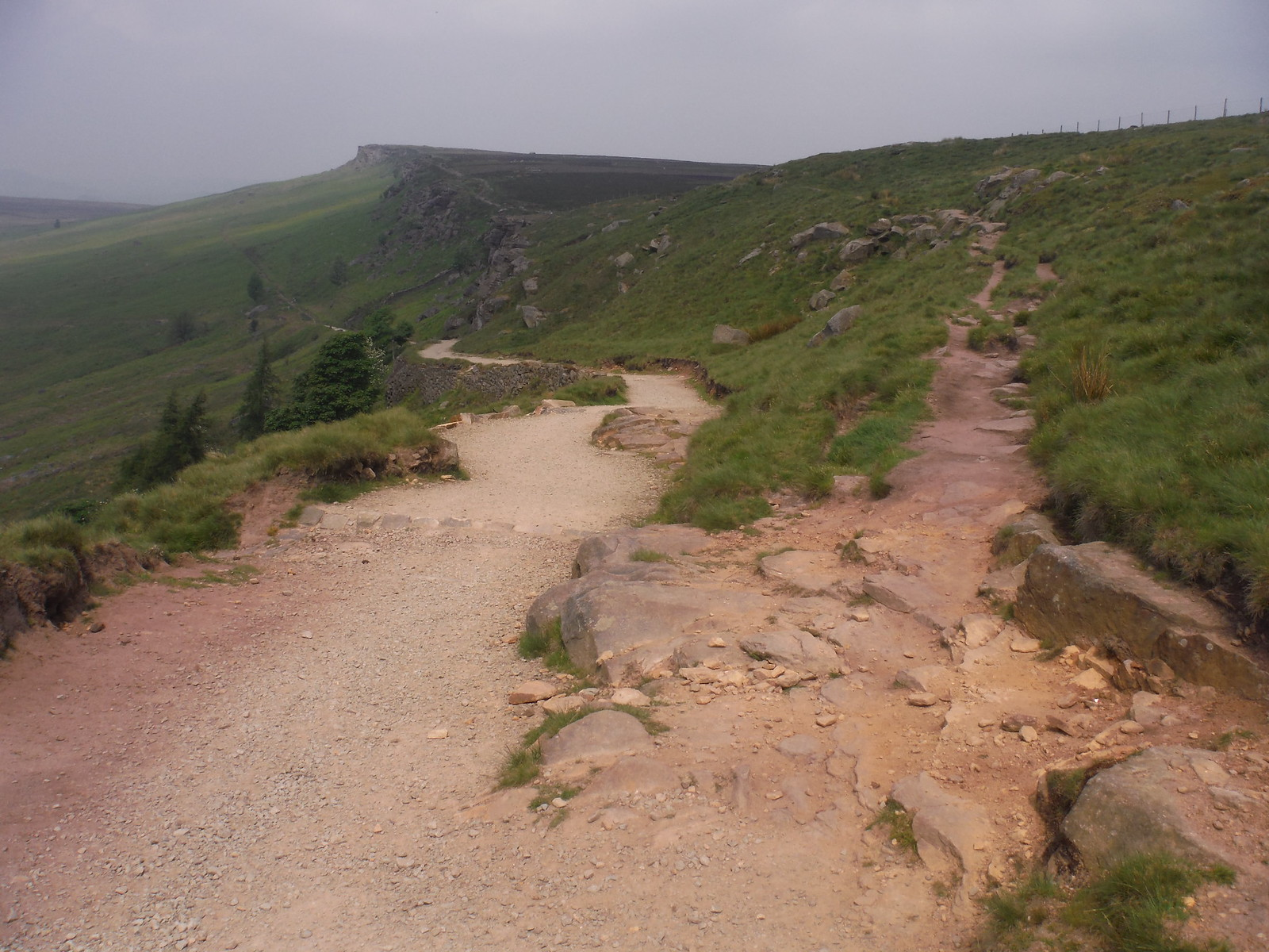 Alternative Ending: up ahead; Main Walk: fork down left SWC Walk 266 - Sheffield to Bamford (via Burbage Rocks and Stanage Edge) or to Moscar Lodge