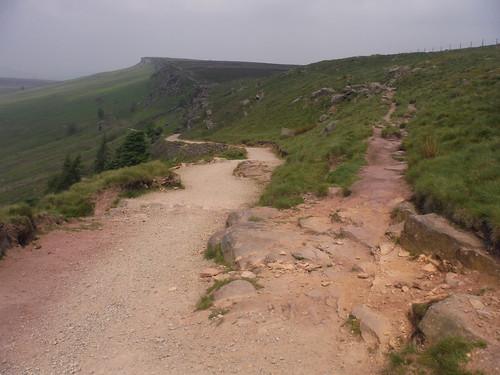 Alternative Ending: up ahead; Main Walk: fork down left SWC Walk 266 - Sheffield to Bamford (via Burbage Rocks and Stanage Edge) or to Moscar Lodge