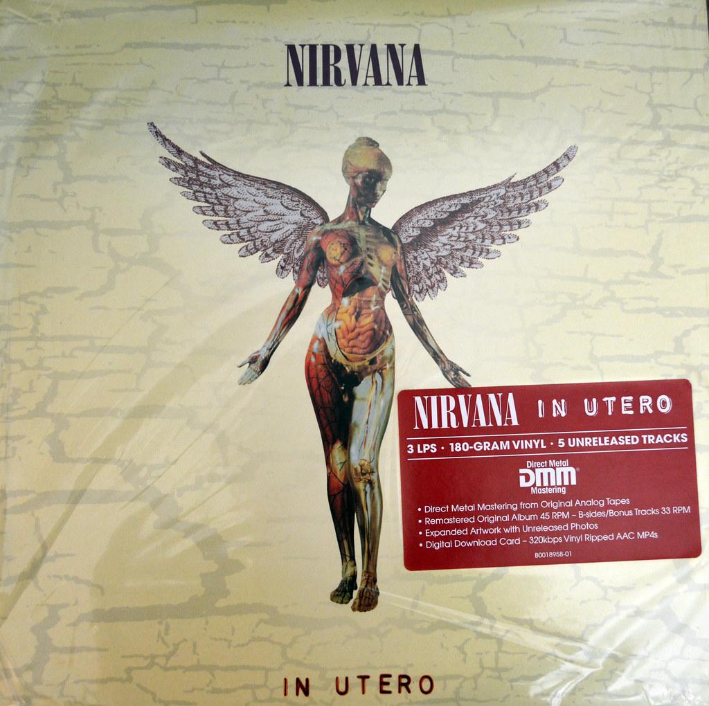 nirvana скачать альбом in utero