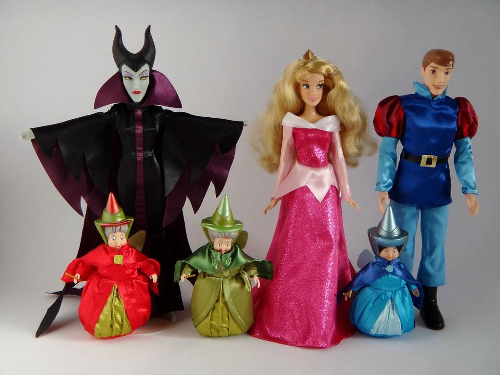 2012-2013 Sleeping Beauty Movie Cast Dolls - Disney Store … | Flickr