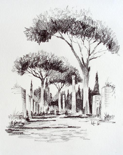 Decumanus maximus - Ostia Antica, IT