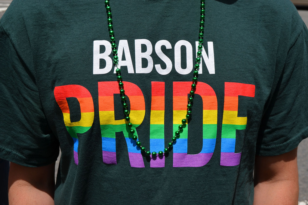 Babson showing our true colors! | Babson College | Flickr