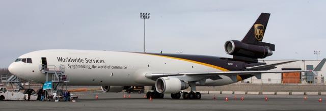 UPS MD-11 at ANC