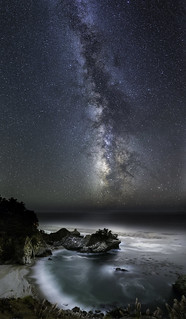 McWay Cove Under the Milky Way | by Bill Shupp