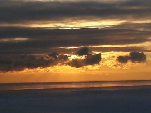 lake st sunrise rays clair crepuscularrays crepuscular lakestclair flickrandroidapp:filter=none