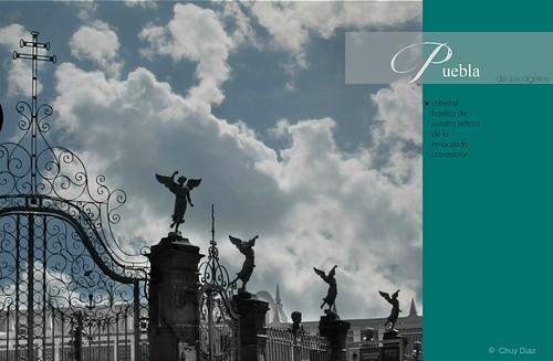 Zócalo de la Ciudad de Puebla.
