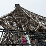 The second level of the Eiffel Tower