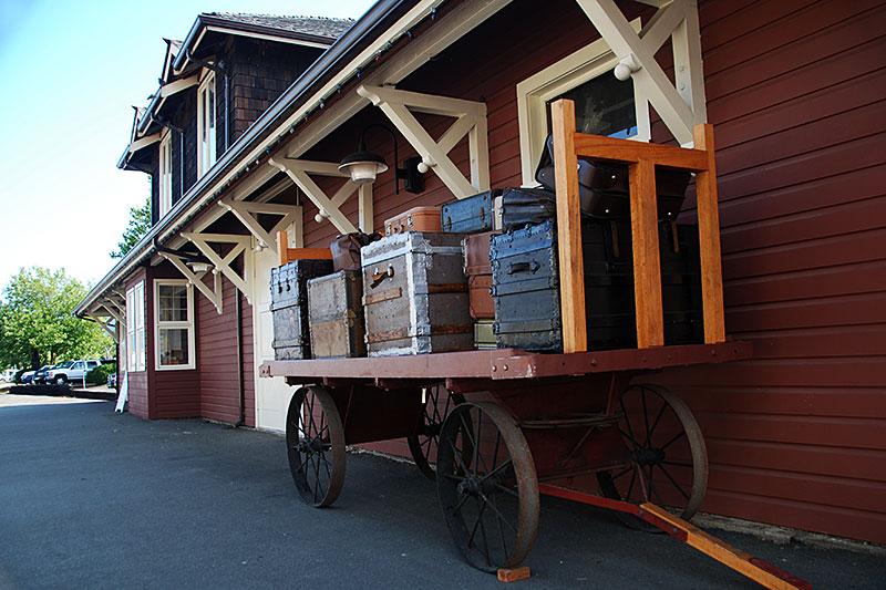 Port Alberni Railway Museum, Port Alberni, Alberni Valley, Vancouver Island, British Columbia