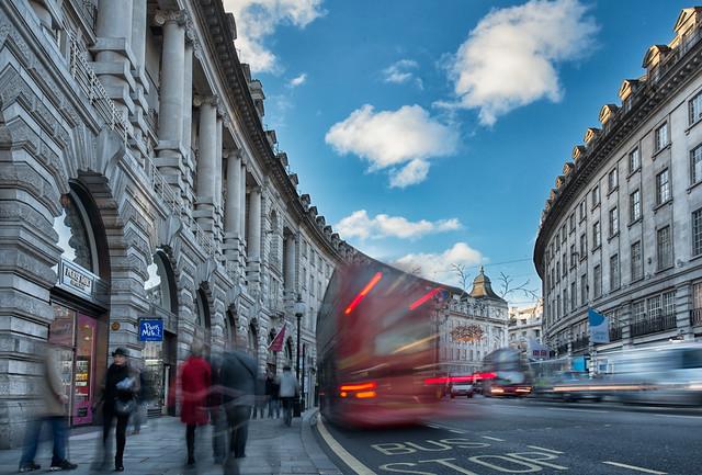 Regent Street London - LOOK UP