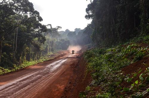 Carrefour Leroy - Mikouyi road construction | by jbdodane