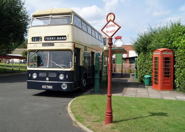 Birmingham City Transport 3796 NOV796G Daimler Fleetline Park Royal