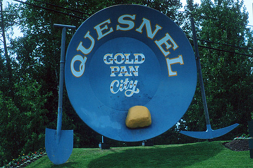 Gold Pan City, Quesnel, Cariboo, British Columbia, Canada