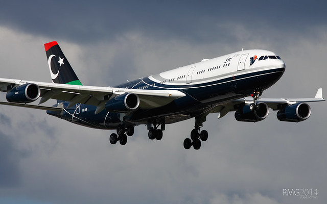 Airbus 340-213 Libya Government (5A-ONE)