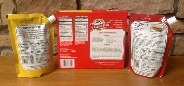 Heinz Ketchup & Heinz Mustard