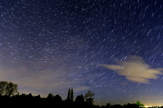 Star trails   by Brian Tomlinson Photography