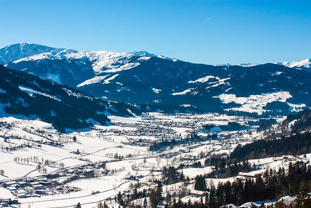 Skiwelt Wilder Kaiser - Brixental: Talblick