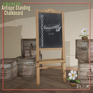 Trowix - Antique Standing Chalkboard Sign MP