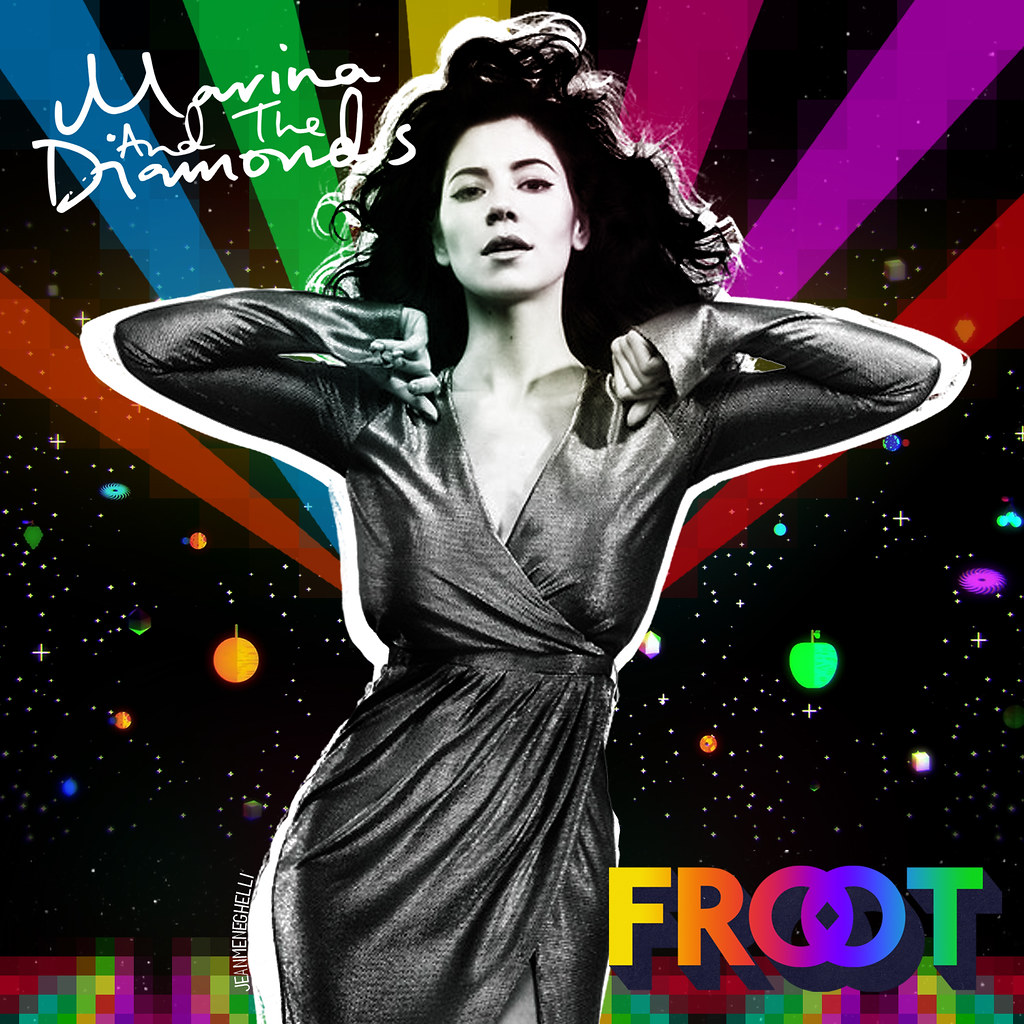 Marina And The Diamonds Froot My Cover For Froot Imagine Flickr