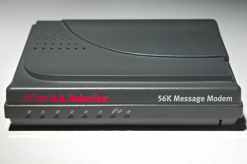 3Com US Robotics 56K Message Modem | by zigazou76