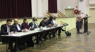 Panorama: Pauline Galvin introduces the forum for Climate Action Moreland