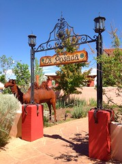 La Posada Hotel on old historic Route 66 in Winslow, Arizona. Photo by Shelly Perkins.