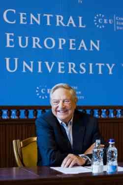 George Soros at CEU