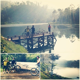 Ride trip to situ cisanti..   by mangky