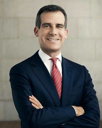 Official Portrait - Mayor Eric Garcetti