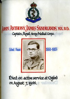 Sandilands, John Anthony James (1917-1944) | by sherborneschoolarchives