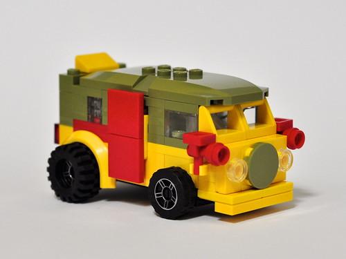 Mini VW Camper TMNT Party Wagon
