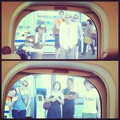 Left Japan with some of Fukuyama's best waving goodbye to me on the Shinkansen platform. I love y'all. @bronwynclark @ejkohse @bb_shinji