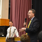 Justice Loughry answers student questions