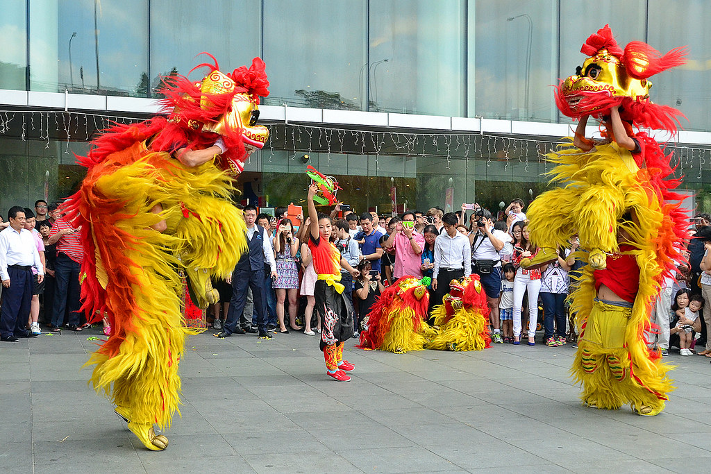 b2df43197 Northern Lion Dance #2 | Performed by Stamford Dragon Lion A… | Flickr