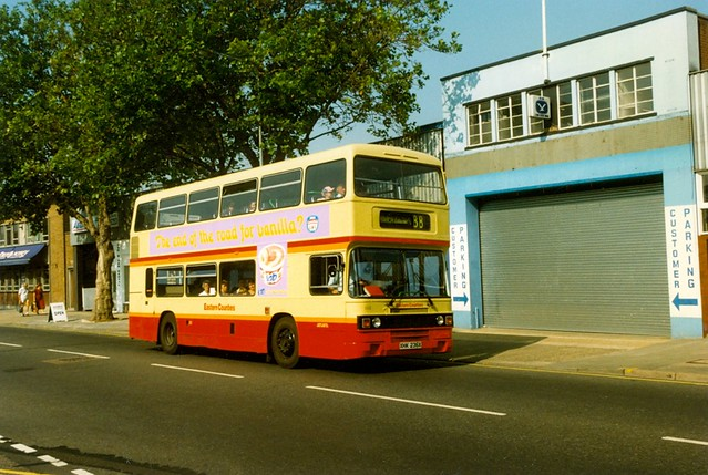 EASTERN COUNTIES 102 XHK236X IPSWICH 190896