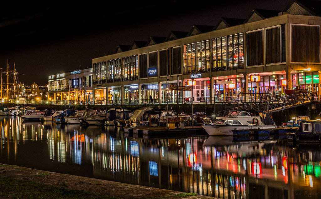 Image result for bristol harbour night