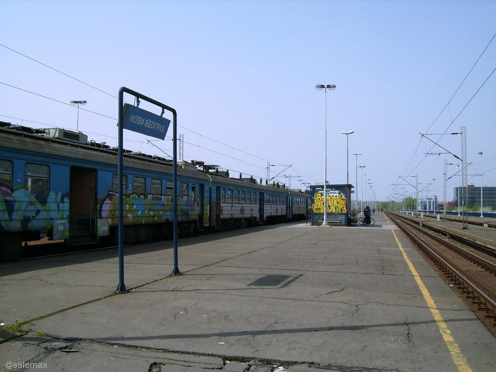 Zeleznicka Stanica Novi Beograd Railway Station Novi Beogr Flickr