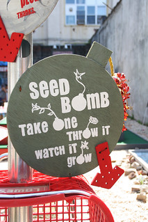 Seed bomb - take one, throw it. | by Liton Ali (use pics for blog posts)
