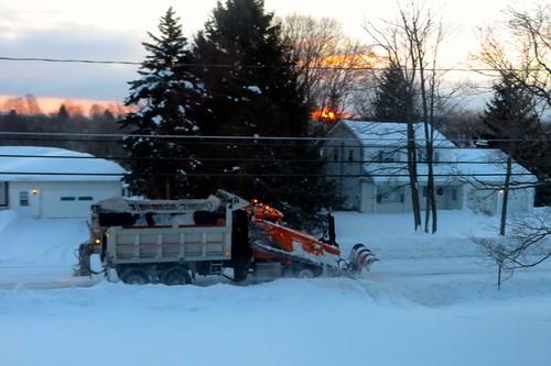 snow truck dumptruck plow snowplow dpw highwaydepartment onondagahillny onondagany