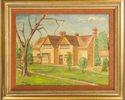 Pintura realizada por Eisenhower