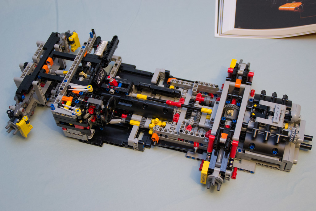42056 Lego Technic Porsche 911 Gt3 Rs Box 1 Finished Flickr