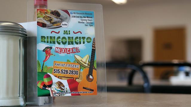 Mi Rinconcito Mexicano in Des Moines