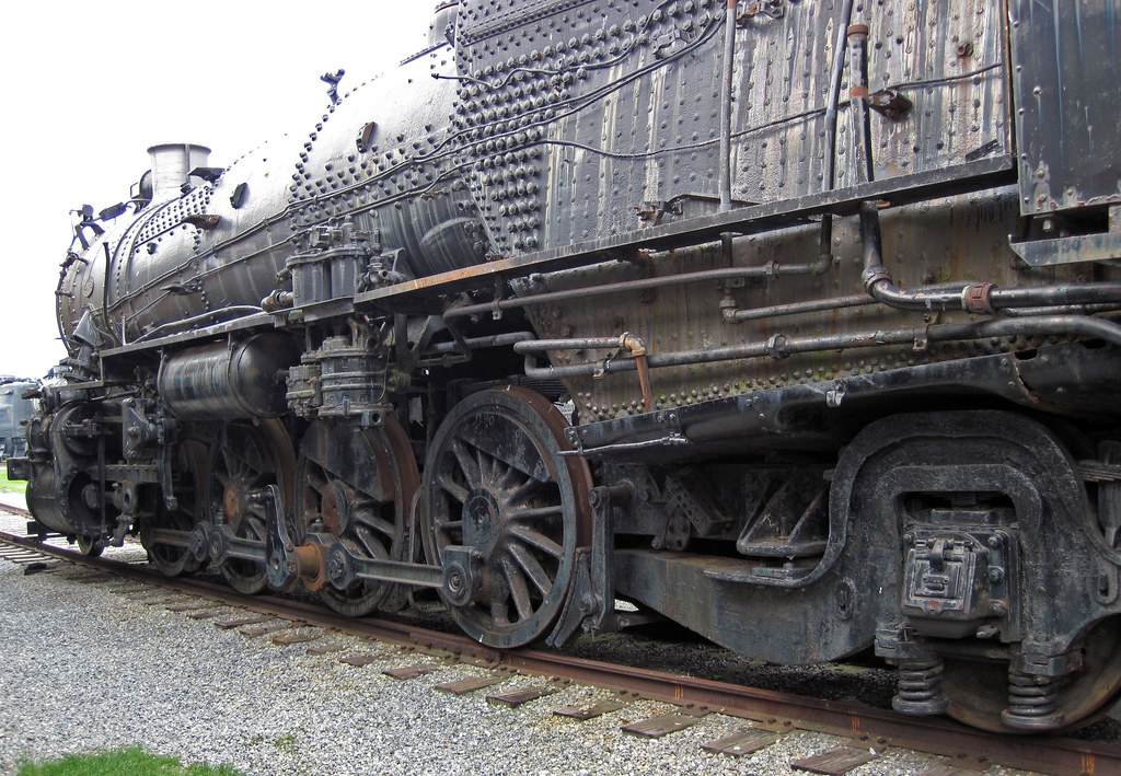 Pennsylvania Railroad # 520 steam locomotive (L1s 2-8-2) 4