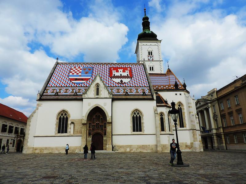 St Mark Square, Zagreb, Croatia