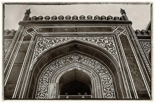 Agra IND - Itimad-ud-Daula Main Gate 03