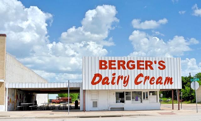 Berger's Dairy Cream - Mart,Texas